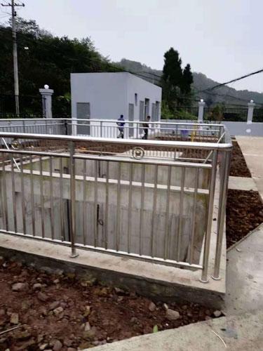渝北农安村项目污水处理控制设备