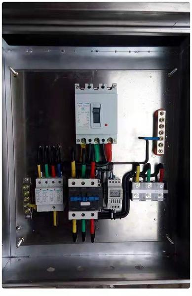 配电箱工程案例-来福士广场